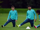 Diego Costa and Oscar pictured in happier times