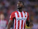 Jackson Martinez and his limp wrist in action for Atletico Madrid on September 22, 2015