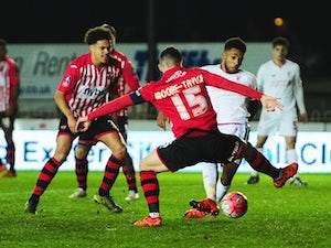 Exeter hold Liverpool in FA Cup