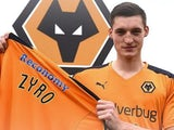 Michal Zyro signs for Wolverhampton Wanderers in December 2015