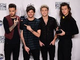 One Direction pictured at the 2015 American Music Awards in Los Angeles, California on November 22, 2015