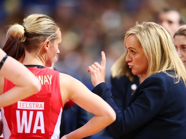 Tamsin Greenway speaks with Tracey Neville on August 8, 2015