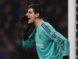 Courtois 'unhappy' with dropped points