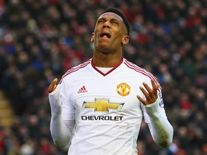 Martial ruled out of Leicester match