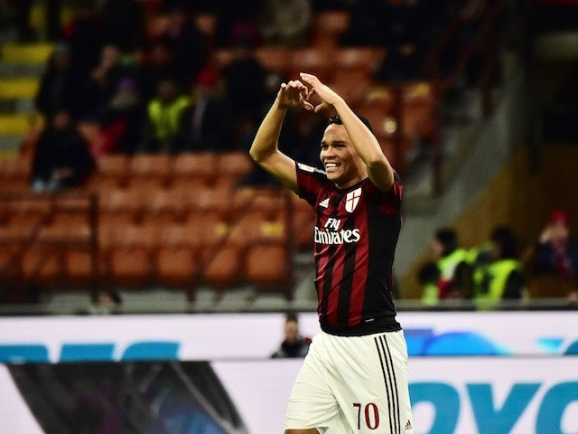 Result: Bacca, Boateng fire AC Milan to victory