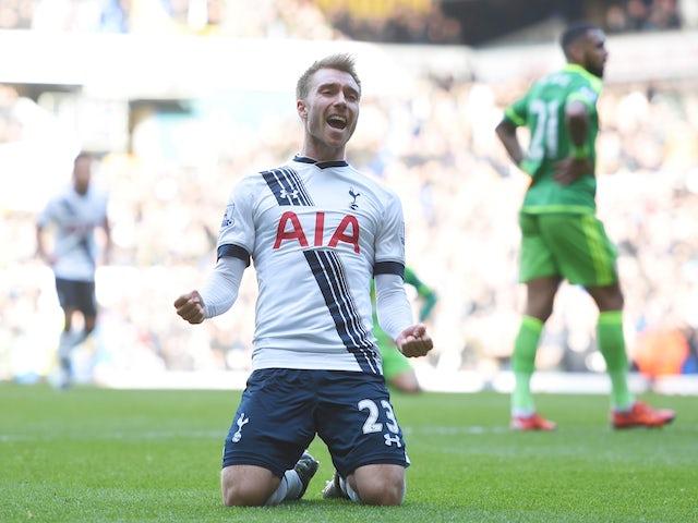 Result: Spurs recover to beat Sunderland