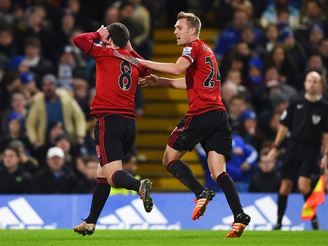 Result: McClean strikes late to deny Chelsea