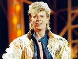 David Bowie pictured in 1987