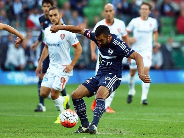 Result: Victory stun A-League leaders Brisbane