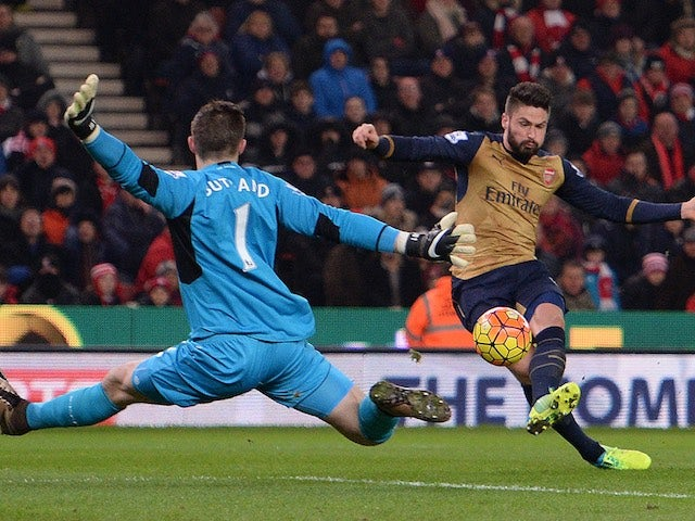 Result: Stoke hold Arsenal to draw