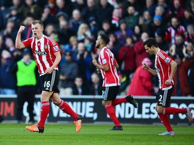 Result: Southampton ease to win against West Brom