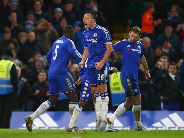 Result: Terry saves Chelsea with late equaliser