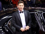 Lionel Messi arrives for the FIFA Ballon d'Or Gala 2015 at the Kongresshaus on January 11, 2016