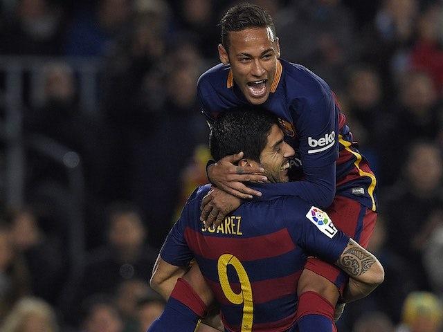 Result: Barca put six past past 10-man Bilbao