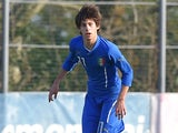 Mirko Antonucci in action for Italy's under-16s in March 2015