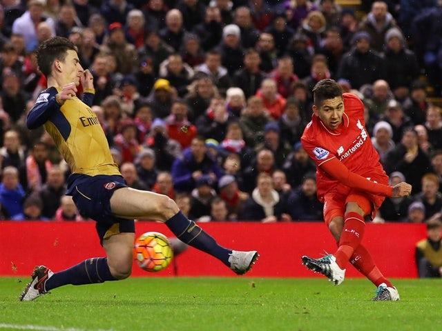 Result: Allen rescues Liverpool point in thriller