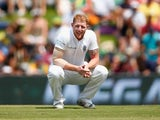 Ben Stokes squats seductively on day two of the fourth Test between South Africa and England on January 23, 2016