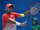 Dan Evans in action on day two of the Australian Open on January 19, 2016