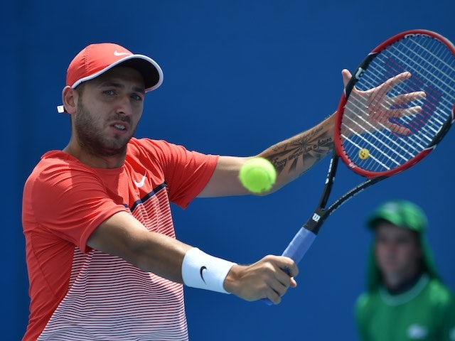 result  dan evans loses in italian open first round