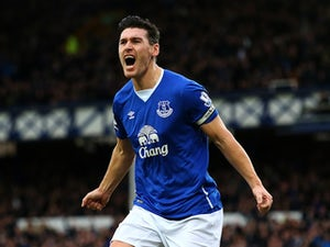 Barry scores for Everton on landmark occasion