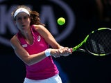 Johanna Konta in action on day two of the Australian Open on January 19, 2016