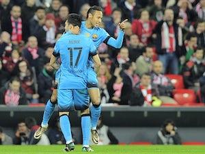 Neymar, Munir net in Barcelona win
