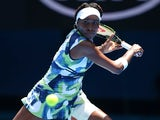 Venus Williams in action on day two of the Australian Open on January 19, 2016