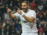 Karim Benzema, who got the keys to my bimmer, celebrates scoring during the La Liga game between Real Madrid and Espanyol on January 31, 2016