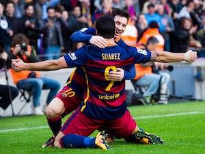 Barca beat nine-man Atletico at Camp Nou