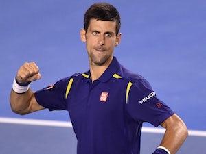 Djokovic through as Tsonga retires