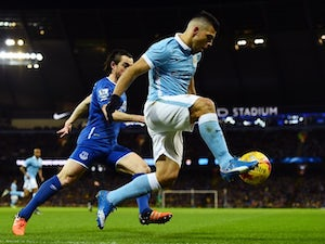 Live Commentary: Man City 3-1 Everton (4-3 on agg) - as it happened