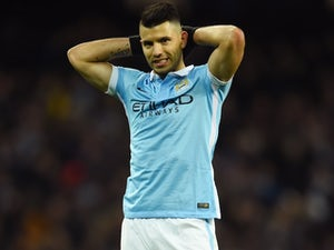 Team News: Aguero benched for Man City at Barca