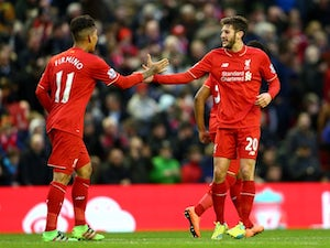 Klopp: Firmino, Lallana back in training