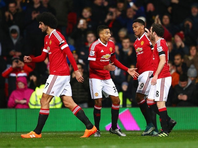 Result: Man United back to winning ways in league