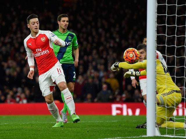 Result: Forster stars as Saints hold Arsenal