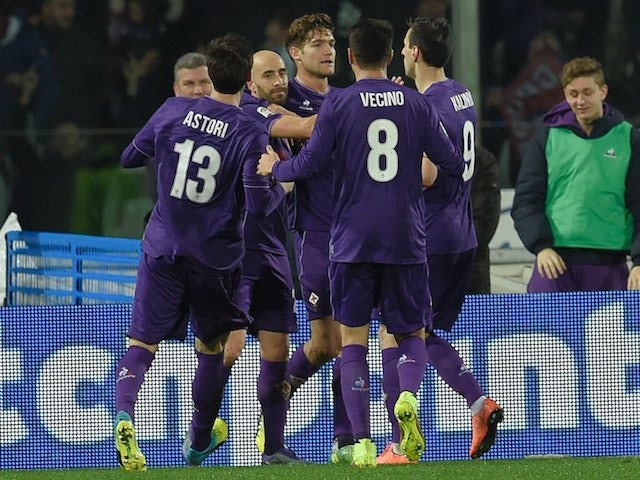 Result: Fiorentina strike late to move third
