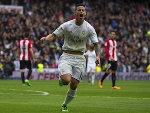 Team News: Rodriguez drops out for Madrid