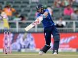 Joe Root in action during the fourth ODI between South Africa and England on February 12, 2016