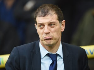 Slaven Bilic looks on prior to the Premier League match between Norwich City and West Ham United on February 13, 2016