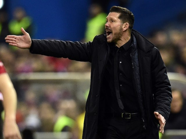 Simeone concerned by Atleti away form