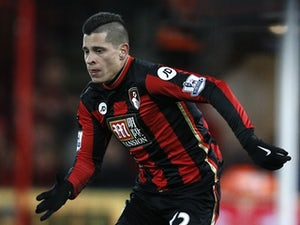 Juan Iturbe in action for Bournemouth against West Ham United on January 12, 2016