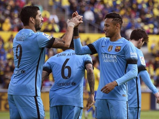 Result: Barcelona beat Las Palmas to extend La Liga lead