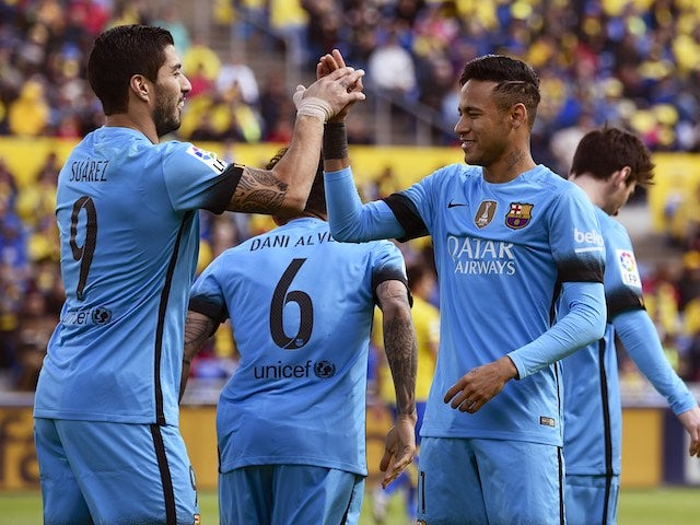 Result: Barcelona beat Las Palmas to extend La Liga lead