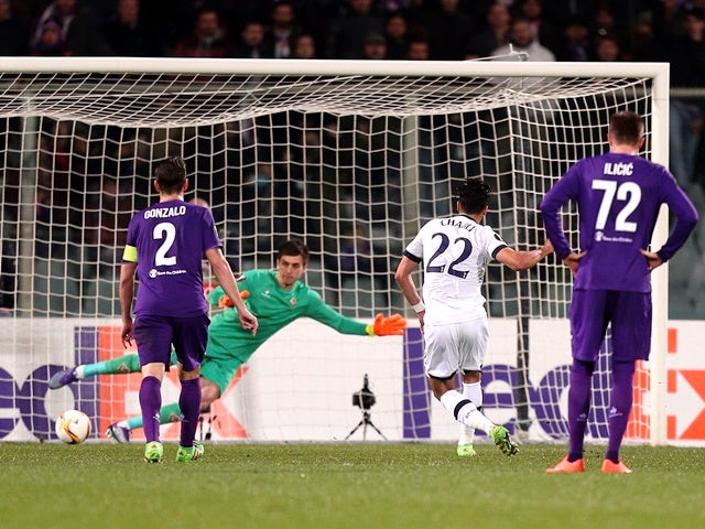 Result: Spurs held in Fiorentina