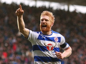 Ginger nut Paul McShane scores during the FA Cup game between Reading and West Bromwich Albion on February 20, 2016