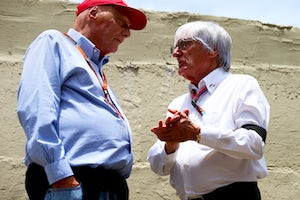 Ecclestone aims fire at Liberty, Ferrari