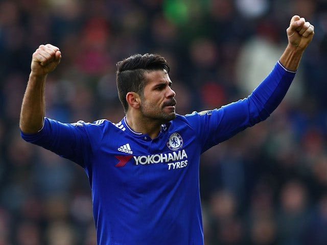Result: Chelsea go top after Diego Costa stunner