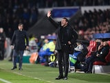 Atletico Madrid manager Diego Simeone issuing instructions during the Champions League last-16 tie against PSV Eindhoven on February 24, 2016