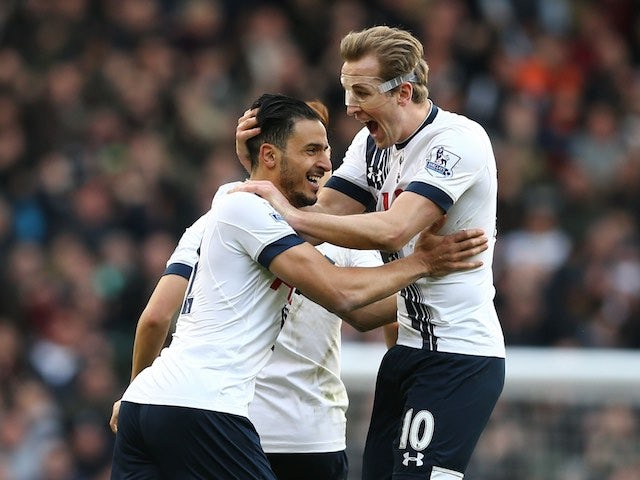 Result: Spurs close gap on Leicester