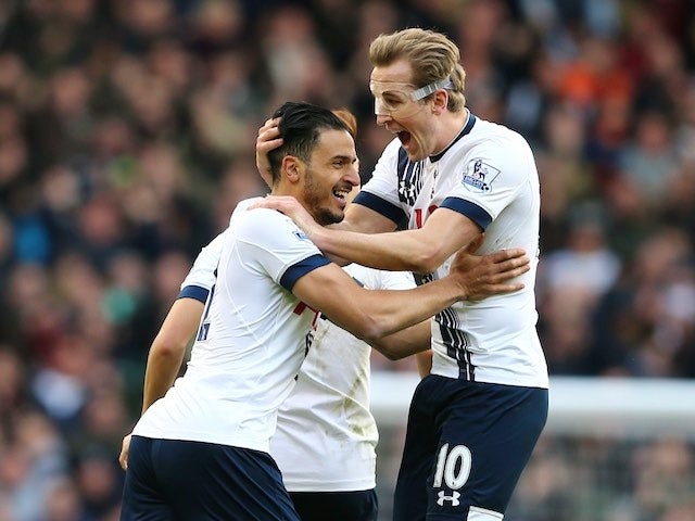 Result: Spurs close gap on Leicester